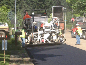 Hoss Paving Asphalt Services Portland Oregon